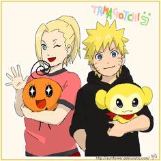 Naruto and Ino. / NaruIno