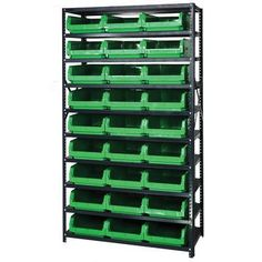 Quantum Shelf Giant Open Hopper Magnum Storage Unit (Complete Package) Bin Color: