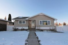 Welcome to Beacon Heights! This 1011 square foot bungalow has been beautifully upgraded with fresh paint all new flooring new custom oak kitchen and much more!  12142 36 Street NE Edmonton  $349000  Visit Don's website for more details!  Link in the description!