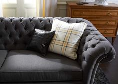 Chesterfield Sofa Antoinette Symmetrical Sectional