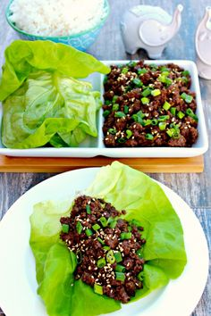 Collection of Lettuce Wraps Recipes from BH&G