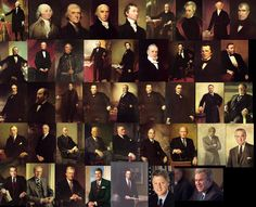 Presidents. Not necessary all of them but admire that they had the courage to at least try and to win. J. P.