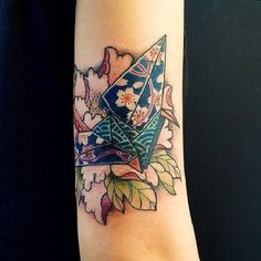 Patterned Bird with Abstract Objects.