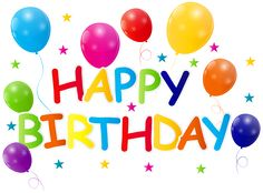 Happy Birthday Clip Art PNG Image