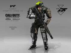 Call of Duty: Infinite Warfare Concept Art by Aaron Beck | Concept Art World