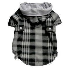 Casaco Soft Xadrez Dudog Vest - MeuAmigoPet.com.br #petshop #cachorro #cão #meuamigopet