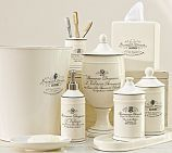Love it. Black & White Apothecary Bath Accessories