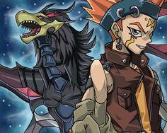 Corw Hogan and Black-Winged Dragon, Yu-Gi-Oh! 5D's