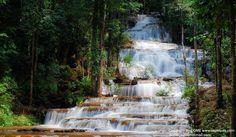 Pha Charoen Waterfall  (Mae Sot, Tak, Thailand)