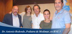 """Nuestro pediatra, el Dr. Redondo estuvo en el programa """"NO ES UN DÍA CUALQUIERA"""", con la psicóloga Laura García hablando sobre niños sobreprotegidos y vuelta al cole"""