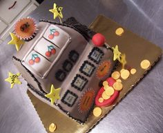 Slot Machine Cake! Cha-Ching!
