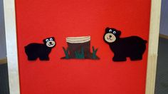 Flannel Friday: Baby Bear's Big Feast – Storytime in the Stacks Flannel Board Stories, Felt Board Stories, Felt Stories, Flannel Boards, Bear Felt, Flannel Friday, Bear Theme, Finger Plays, Love Bear