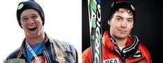 U.S. ski team prospects Bryce Astle and Ronnie Berlack. (AP)