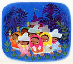 """Super cute inspirational art from Disney's South American Goodwill Tour that eventually became """"Saludos Amigos"""" and """"The Three Caballeros."""" #MaryBlair"""