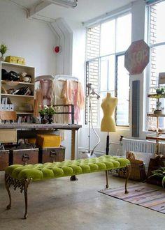 Atelier :: green studio office space.