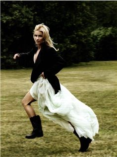 Michelle Hunziker | Giovanni Gastel #photography | Vanity Fair Italy March 2012