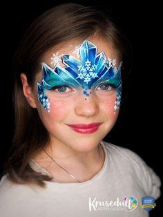 Arctic Ice Princess face paint