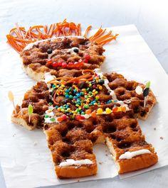 Cakeman - Danish birthday cake for kids.