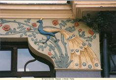 Nature and Art Nouveau- peacocks and other natural themes