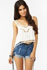 Dreamer Crop Tank - nasty girl