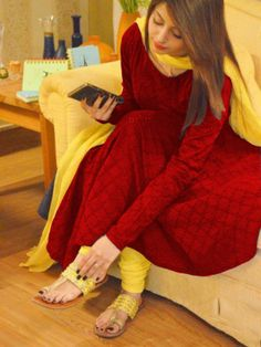 Cotton Self Design Un-stitched Salwar Suit Dupatta Material ( Brown, Yellow )