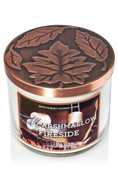 Marshmallow Fireside 3-Wick Candle - Home Fragrance 1037181 - Bath & Body Works