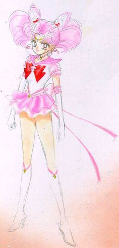 Sailor Moon #ChibiUsa