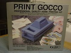 Great tutorial on Gocco Printing