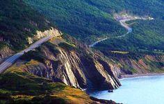 Drove the Cabot Trail, Cape Breton, Nova Scotia, Canada Cabot Trail Nova Scotia, Destinations, Atlantic Canada, Prince, Cape Breton, Canada Travel, Plein Air, Beautiful Islands, East Coast
