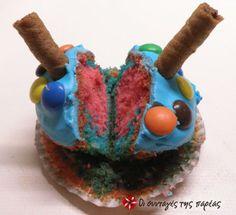 Πεντανόστιμα Cupcakes #sintagespareas