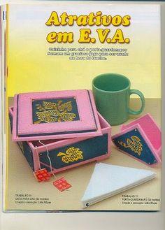 Porta Guardanapo em EVA