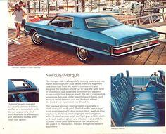 1972 Mercury Marquis Four Door Hardtop