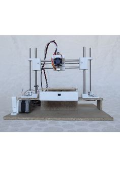 Picture of Cherry- 60€ 3D-Printer  #3dscanner  Please join our Sociable chat and have a look at our website for specials on 3d rapid prototyping and enjoy our coaching articles. http://www.3d-printing-sa.co.za/pages/prusa-i3-3d-printer