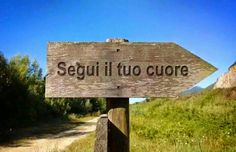 Segui il tuo cuore....