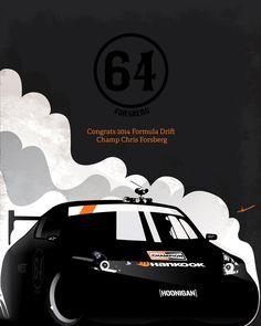 Forsberg Formula Drift Poster Concept.