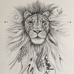 Julie Burdon-Stone© created to celebrate #worldlionday 2015 Respect, Preserve,Protect. See more of my work at www.instagram.com/JulieArtist