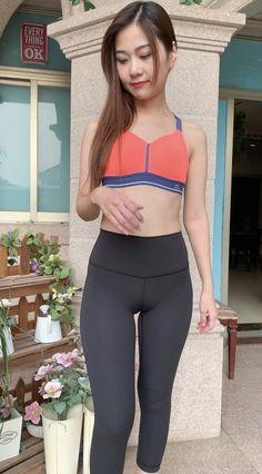 Sports Models, China Girl, Beautiful Asian Women, Sport Girl, Sensual, Asian Woman, Leggings, Fitness, Sexy