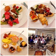 #ARIAFineCatering offered memorable dining experiences @ the TBEX Europe 2014 – the annual international meeting of travel travel bloggers, writers, and new media content creators! #TBEX #TBEXathens #ThisIsAthens   photo by the Twitter user @hoomygumb