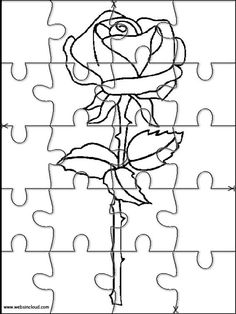 Printable Jigsaw Puzzles To Cut Out For Kids Nature 75 Coloring Pages