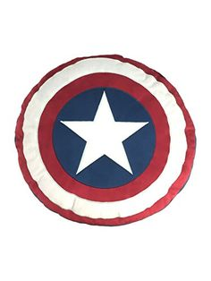 Marvel Captain America Civil War Shield Decorative Pillow >>> Learn more by visiting the image link.-It is an affiliate link to Amazon. #DecorativePillowsInsertsCovers