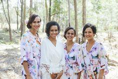 Photography : @florido_weddings -  Bridesmaid Robes, Wedding Robes, Bridal Robes, Bridal Sleepwear, Women's Sleepwear, Bridesmaid Gift Made to order! Shop the Piyama Bridal Boutique: www.etsy.com/au/shop/Piyama