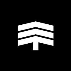PSPUW by Karol Śliwka. 1966 . Logo Design . Graphic . Minimal . Black and White .