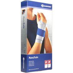 MANUTRAIN Handgelenkbandage links Grösse 4 natur:   Packungsinhalt: 1 St Bandage PZN: 01285714 Hersteller: Bauerfeind AG / Orthopädie…