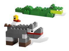 dierentuindieren van lego Hama Beads Minecraft, Perler Beads, Lego Basic, Lego Club, Easy Lego Creations, Lego Zoo, Lego Duplo Animals, Lego Therapy, Modele Lego