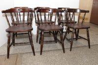 Krzesła dąb 6 szt komplet - Komis Sezam - Meble Używane