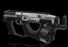 ArtStation - UBD-9 SMG, Daniel Kenton Sci Fi Weapons, Concept Weapons, Weapons Guns, Fantasy Weapons, Future Weapons, Tech Art, Military Equipment, Arsenal, Firearms