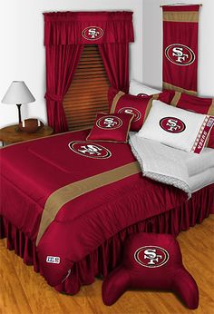 49ers Bedroom. I WANT!!!