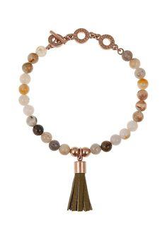 Capsule Wardrobe, Tassel Necklace, Blush, Cream, Spring, Jewelry, Fashion, Olives, Armband