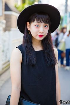 Pani is this 19-year-old student, GU Top & WEGO Hat