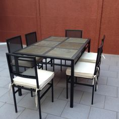 29 mejores imágenes de Comedores de terraza fierro 6 sillas